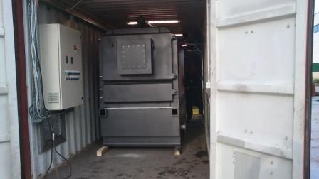 Caldaia da 650 kw interno al container - Caldaia da interno ...